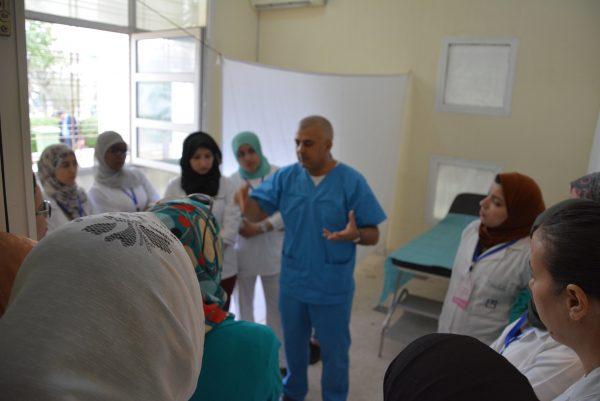 La campagne de dépistage du cancer du sein et du col ( les journées sanitaires d'inzegane 2 ème édition)